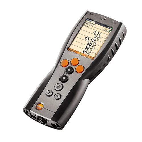 Hướng dẫn cách sử dụng máy đo khí thải Testo 350