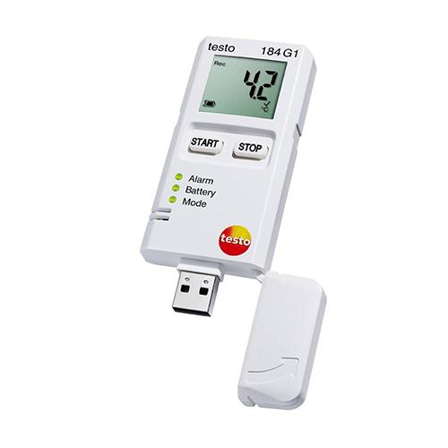 máy đo nhiệt độ độ ẩm tự ghi testo 184g1