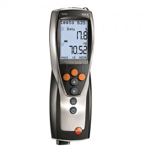 Máy đo nhiệt độ Testo 635-2: Thiết bị tự ghi nhiệt độ