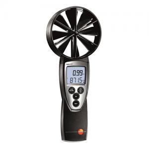 máy đo tốc độ gió testo 417, thiết bị đo lưu lượng gió, không khí
