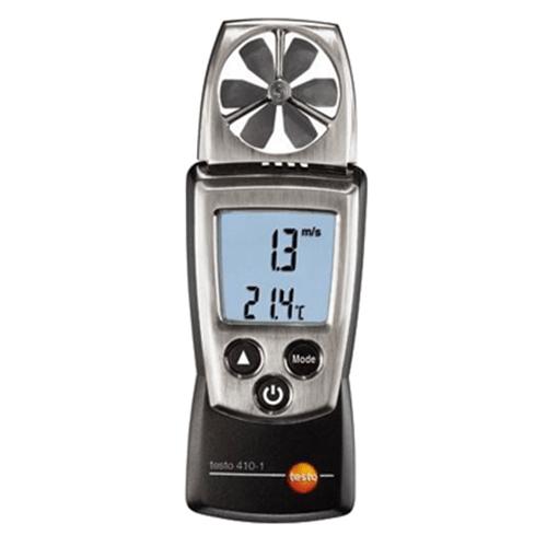 Máy đo vận tốc gió Testo 410-1, thiết bị đo lưu lượng gió, máy đo tốc độ gió