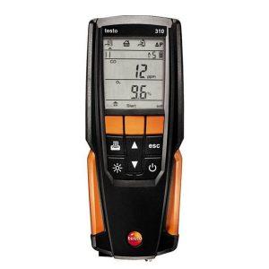 máy phân tích khí thải testo 310: máy đo khí thải