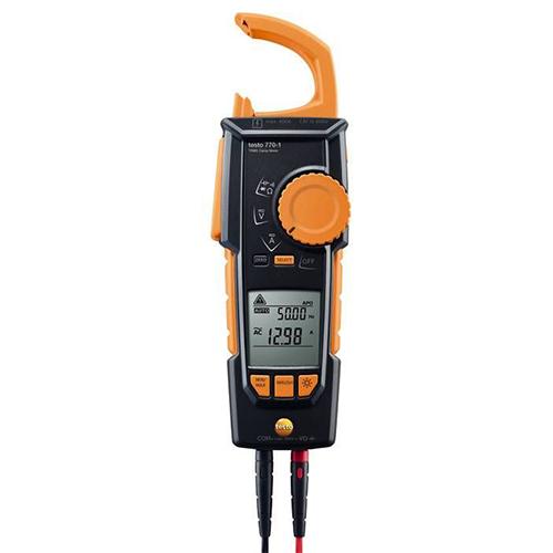 Ampe kìm Testo 770-1: Đồng hồ đo điện AC/DC 600V