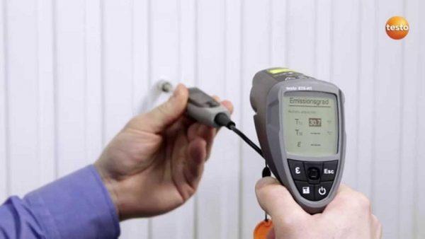 Máy đo nhiệt độ hồng ngoại Testo 835-H1