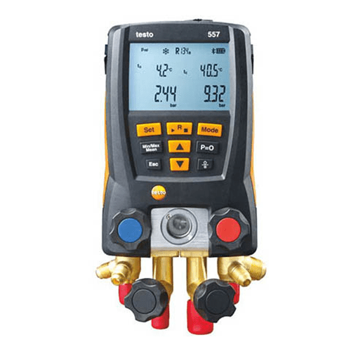 Bộ đo áp suất chân không Testo 557 Kit: 4 cổng kết nối, bluetooth