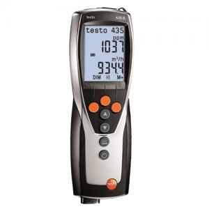 Đồng hồ đo đa năng Testo 435-3 với áp suất vi sai. Máy đo đa năng