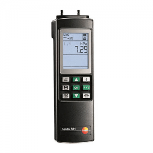 Máy đo áp suất vi sai Testo 521-1: áp kế đo áp suất0 đến 100 hPa