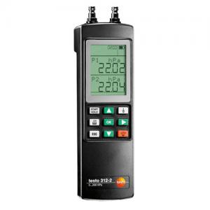 Máy đo áp suất tuyệt đối Testo 312-2 :Đồng hồ áp suất chính xác, lên đến 40/200 hPa