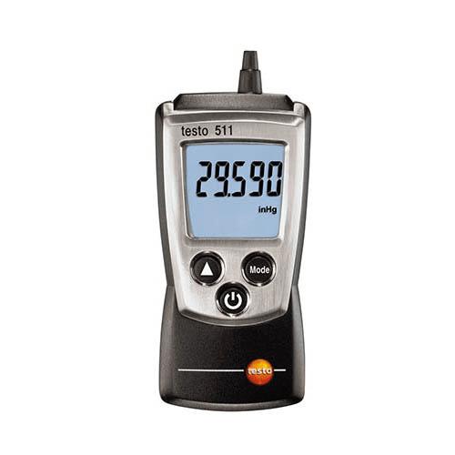 Máy đo áp suất tuyệt đối Testo 511: thiết bị đo áp suất tuyệt đối bỏ túi