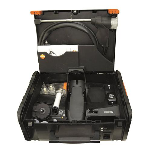 Máy đo hạt bụi Testo 380: Thiết bị đo đếm bụi không khí