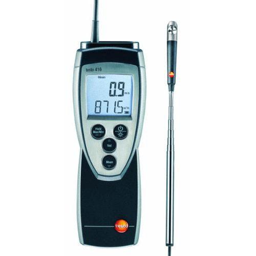 Máy đo tốc độ gió Testo 416 Kit: máy đo gió có đầu dò thiên văn