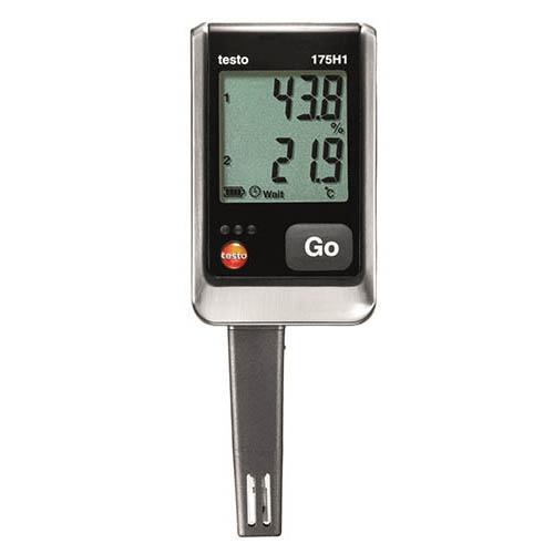 Nhiệt ẩm kế tự ghi testo 175-h1, máy đo nhiệt độ tự ghi, bộ ghi dữ liệu