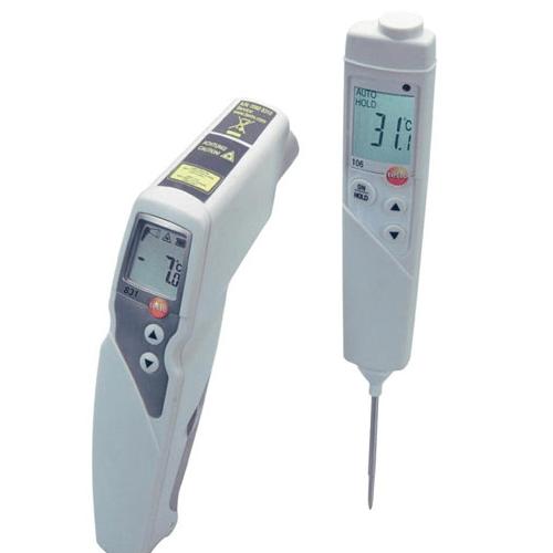 nhiệt kế thực phẩm hồng ngoại testo 831/106. Đầu đo testo 106