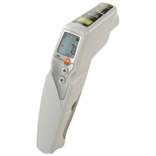 Nhiệt kế thực phẩm Testo 831: Nhiệt kế hồng ngoại đo nhiệt độ thực phẩm