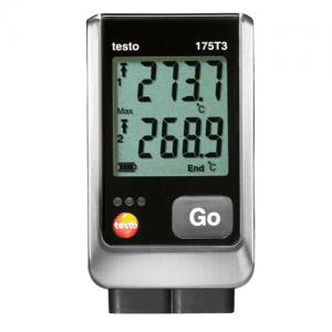 Nhiệt kế tự ghi testo 175 t3, máy đo nhiệt độ tự ghi, bộ ghi dữ liệu nhiệt độ