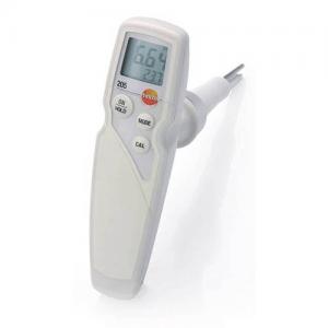 máy đo ph và nhiệt độ Testo 205 kit