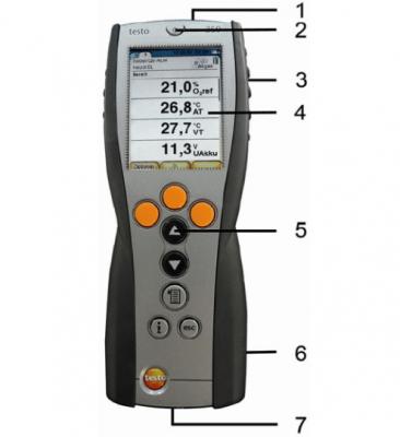 hướng dẫn sử dụng máy đo phân tích khí thải testo 350