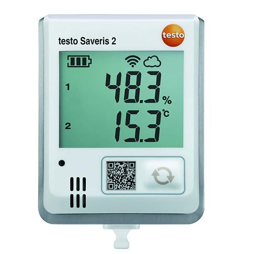 Máy đo nhiệt độ độ ẩm tự ghi Testo Saveris 2-H1