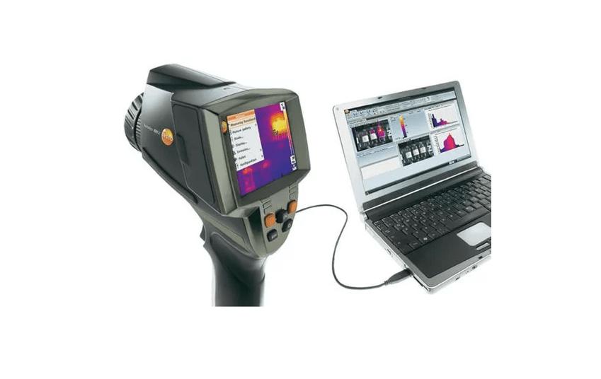 đánh giá và hướng dẫn sử dụng camera nhiệt Testo 882
