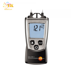 Testo 606-1: Máy đo độ ẩm gỗ, vật liệu, xi măng, tường, vữa Testo 606