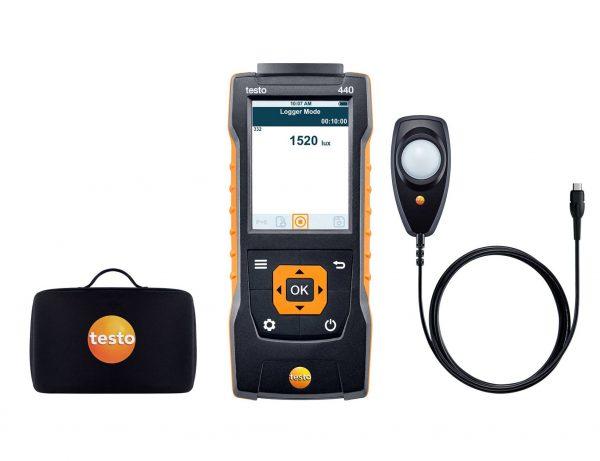 Máy đo đa năng Testo 440 Lux kit