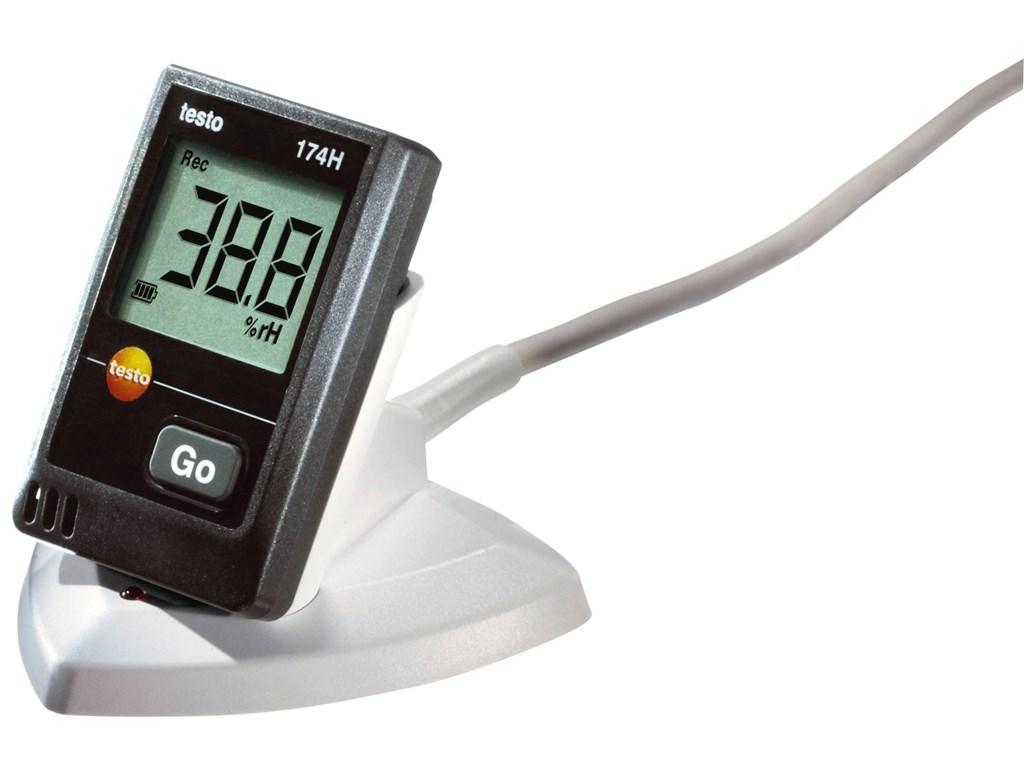 Testo 174H Kit - Nhiệt kế tự ghi mini với cổng USB