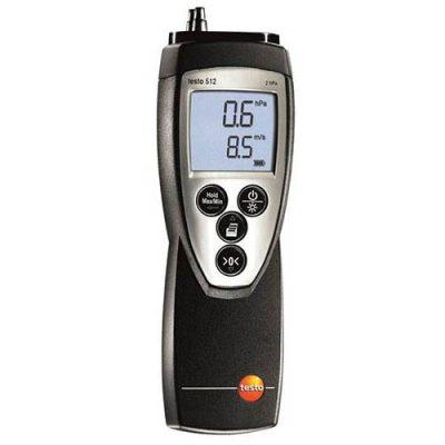Máy đo tốc độ gió áp suất vi sai Testo 512-10WC