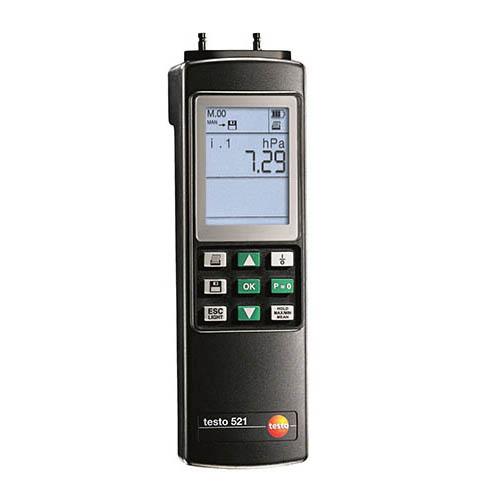 Máy đo áp suất vi sai chính xác cao Testo 521-3