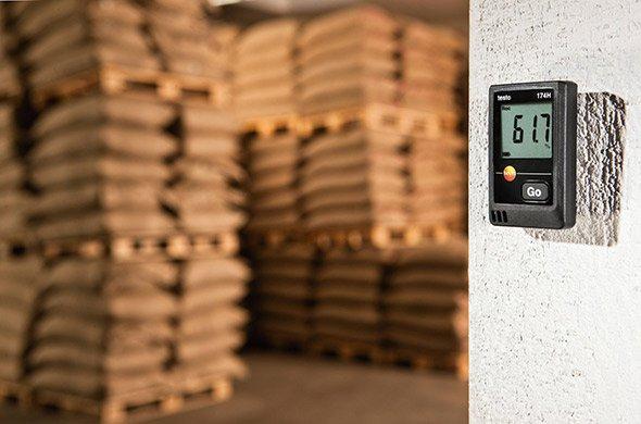 Giám sát nhiệt độ độ ẩm trong kho thực phẩm, lương thực
