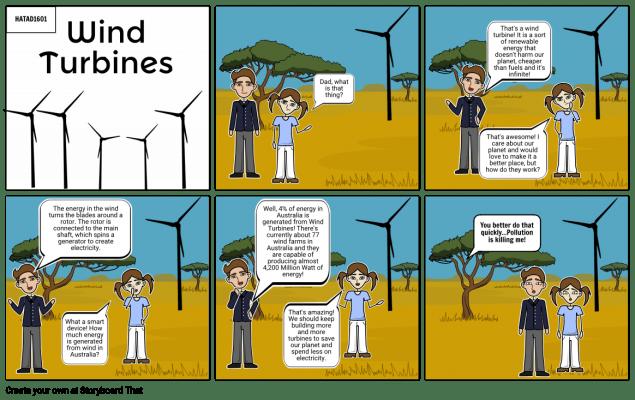 Tuabin gió tạo ra điện như thế nào?