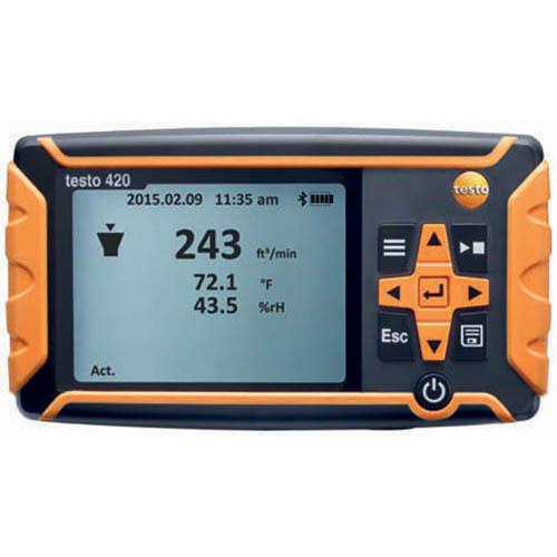 Máy đo áp suất chênh lệch Testo 420