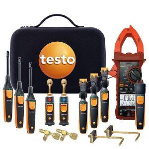 Bộ đầu dò Testo Professional Smart Probe Kit để đo nhanh điện và áp suất