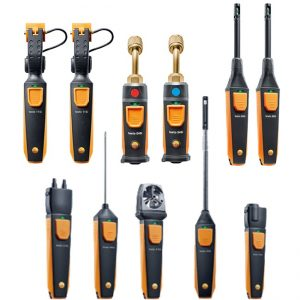 Testo Smart Probe HVAC / R Complete Kit