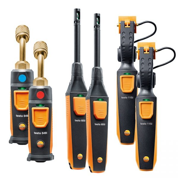 Testo Smart Probes AC / Refrigeration Capacity Test Kit