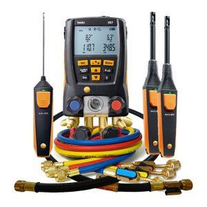 Bộ kit Testo 557 cho ứng dụng đo nhanh cơ bản