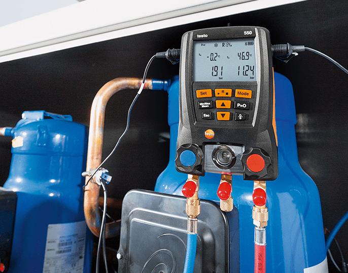 Tối đa hoá giá trị với máy đo áp suất testo 550